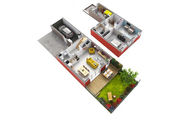 programme montfavet village appartement neuf avignon 84. Black Bedroom Furniture Sets. Home Design Ideas