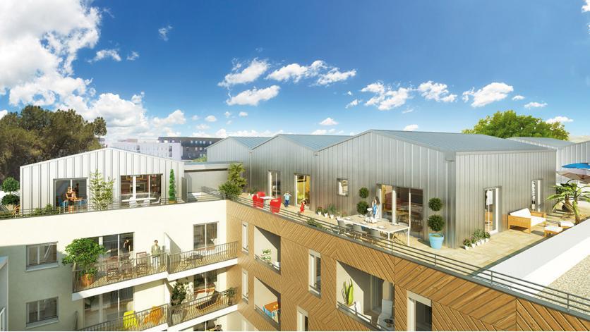 Programme parc elys e appartement neuf castelnau le lez 34 for Piscine castelnau le lez