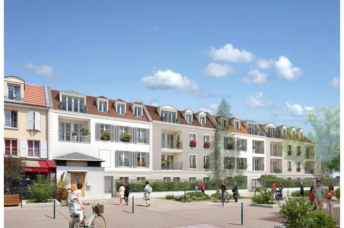 Programme le clos des vignes appartement neuf rueil for Appartement atypique rueil malmaison