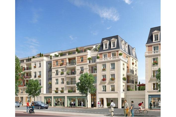 Programme royal mansart 2 appartement neuf maisons for Programme immobilier neuf maison