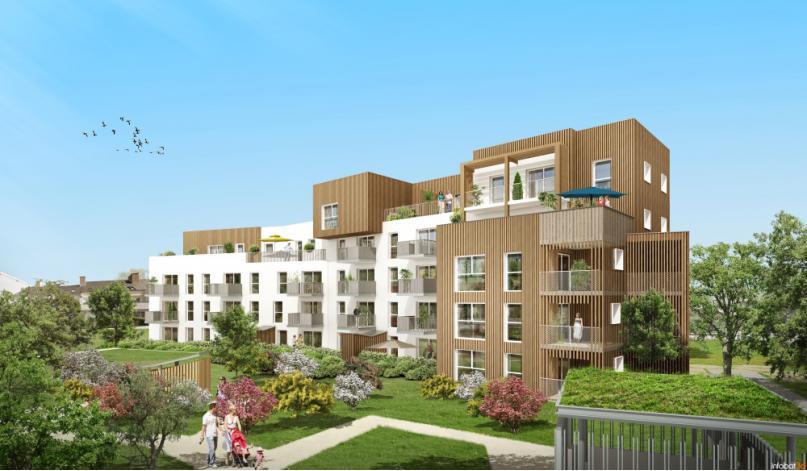 programme wood park appartement neuf rennes 35. Black Bedroom Furniture Sets. Home Design Ideas