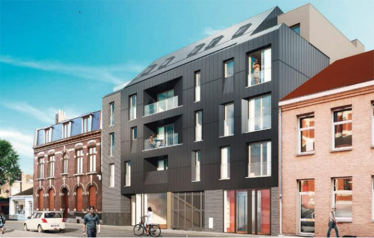 Programme le parvis appartement neuf lille 59 for Maison neuf