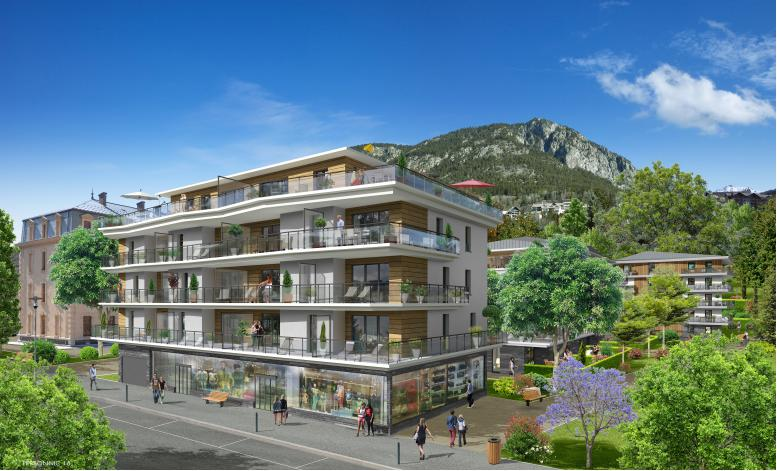 R sidence colaud ecoquartier coeur de ville for Residence neuf