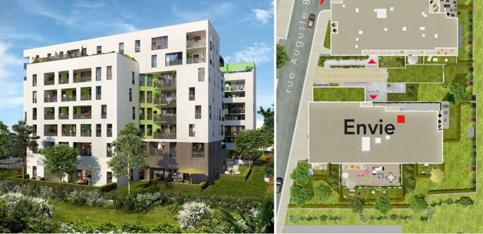 Programme envie appartement neuf bagnolet 93 for Programme logement neuf