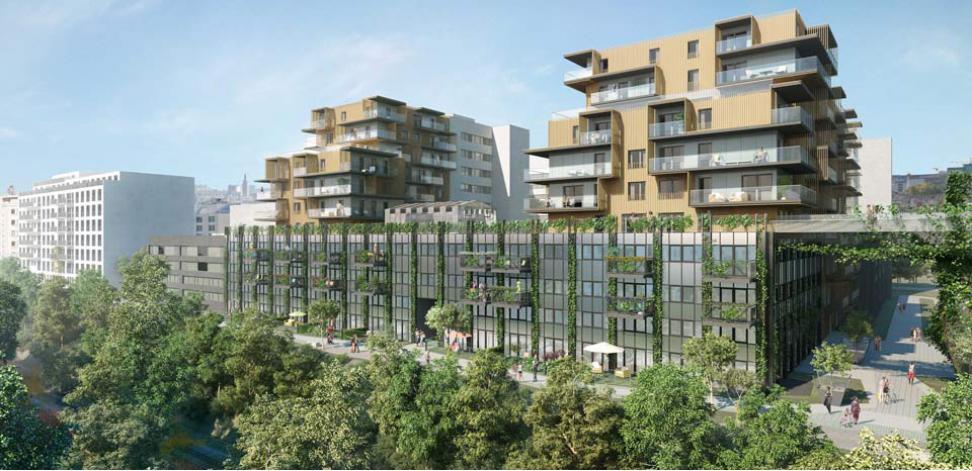 l 39 imprimerie appartement neuf paris 14 me arrondissement. Black Bedroom Furniture Sets. Home Design Ideas