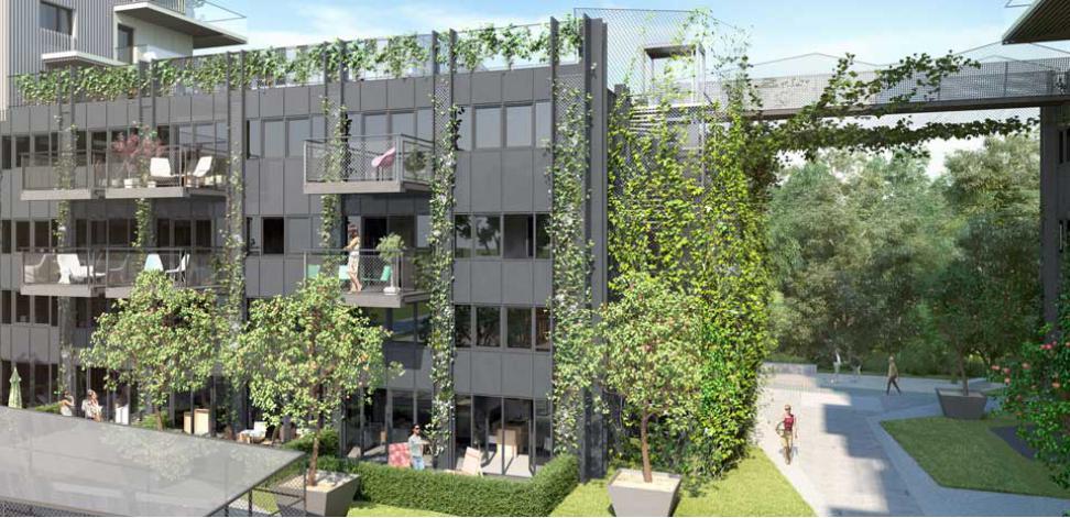 l 39 imprimerie appartement neuf paris 14 me arrondissement 75. Black Bedroom Furniture Sets. Home Design Ideas
