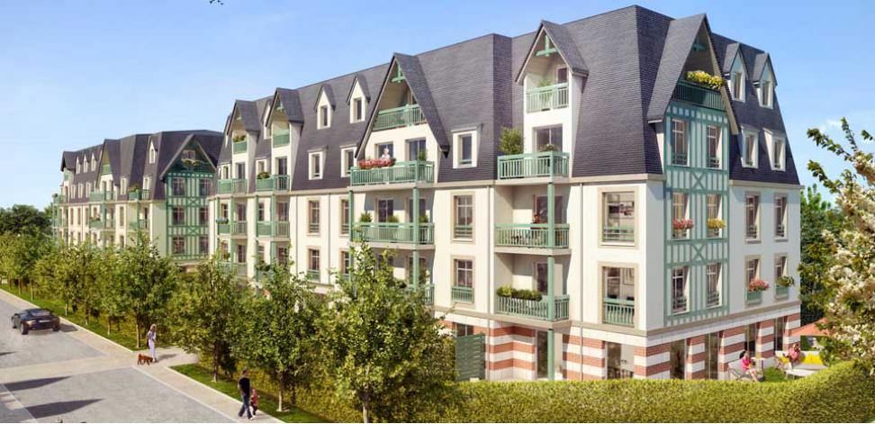 Programme residence des arts appartement neuf deauville 14 for Residence neuf