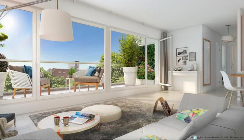 esprit b appartement neuf cogedim. Black Bedroom Furniture Sets. Home Design Ideas