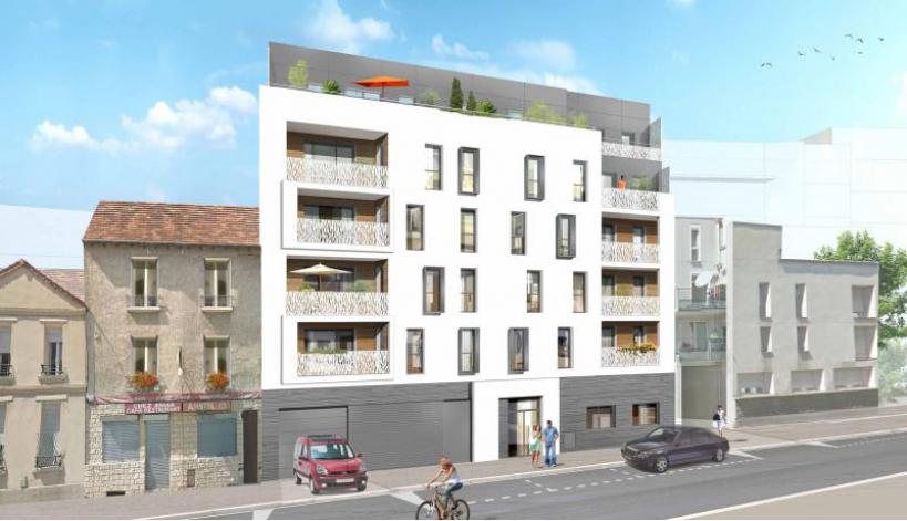 Programme esprit canal appartement neuf aubervilliers 93 for Programme logement neuf
