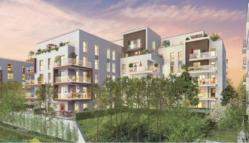 Programme idylle appartement neuf rueil malmaison 92 for Appartement atypique rueil malmaison