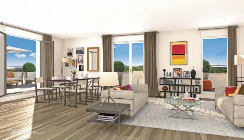 programme idylle appartement neuf rueil malmaison 92. Black Bedroom Furniture Sets. Home Design Ideas