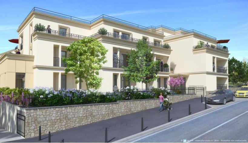 programme les jardins de cluny appartement neuf thiais 94. Black Bedroom Furniture Sets. Home Design Ideas