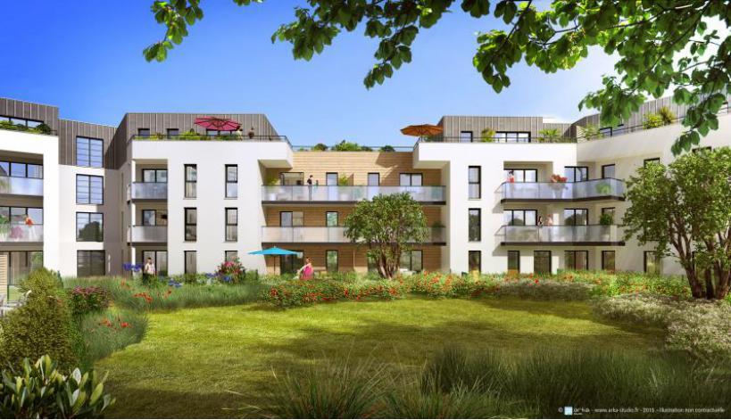 Programme optilium appartement neuf vertou 44 for Programme logement neuf