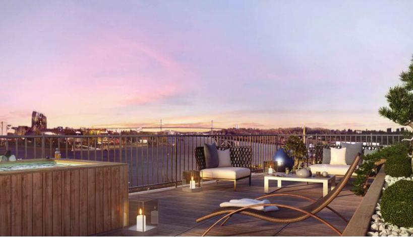 Programme quai 54 appartement neuf bordeaux 33 for Appartement bordeaux quai des marques