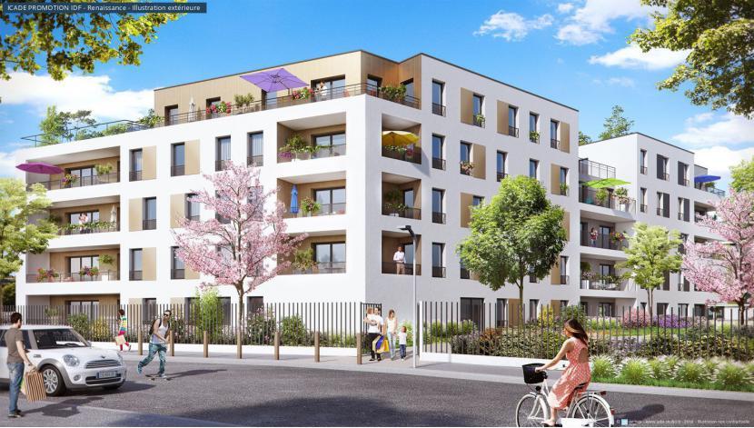 Programme le parc renaissance appartement neuf antony 92 for Programme appartement