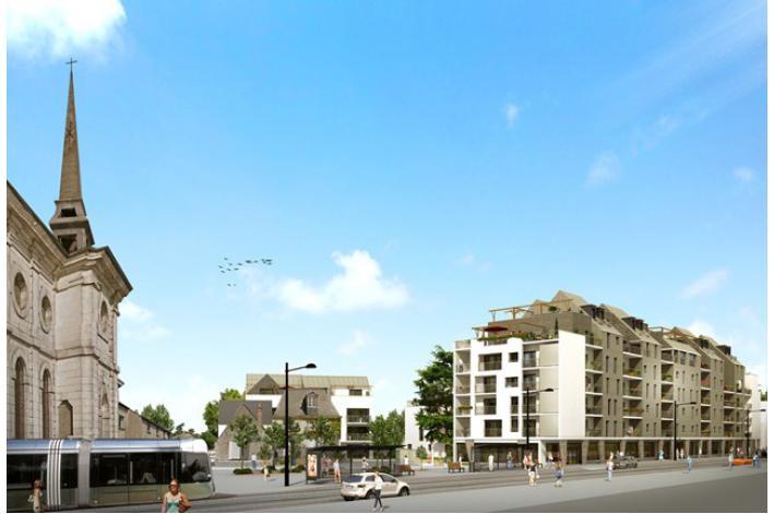programme les terrasses du c dre appartement neuf tours 37. Black Bedroom Furniture Sets. Home Design Ideas