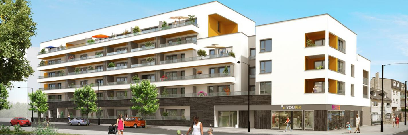 r sidence m lody appartement neuf saint jacques de la lande 35. Black Bedroom Furniture Sets. Home Design Ideas