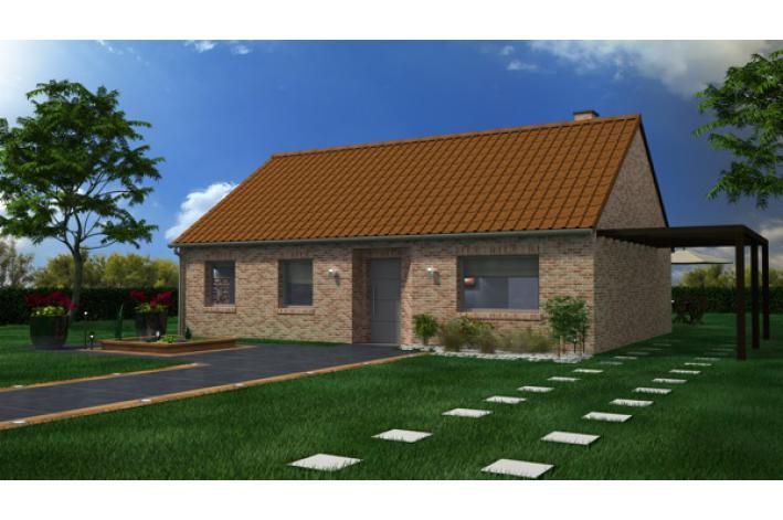Vente terrain constructible wannehain vendre r f for Maison phenix valenciennes