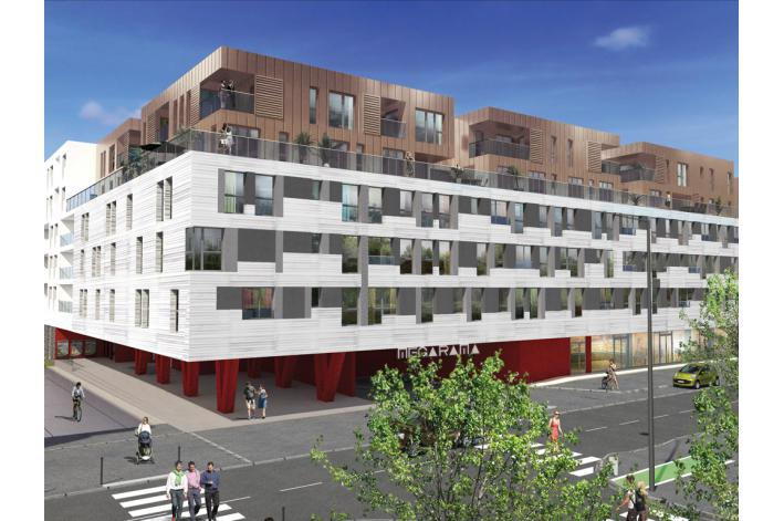 R sidence cap ouest appartement neuf pichet immobilier for Avant premiere immobilier neuf