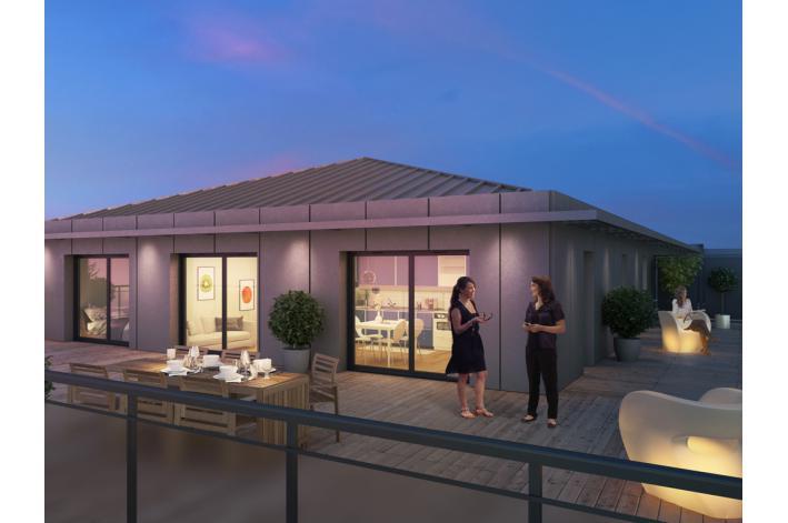 programme les jardins de capeyron appartement neuf m rignac 33. Black Bedroom Furniture Sets. Home Design Ideas