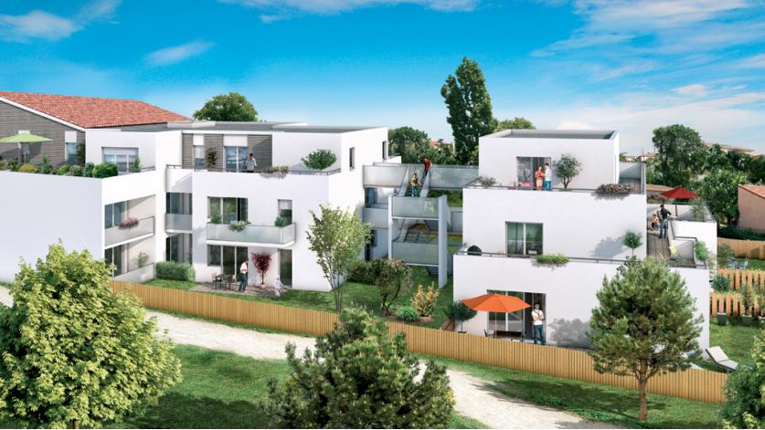 Programme r sidence anth a appartement neuf toulouse 31 for Residence neuf
