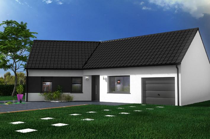 Maison castor lezennes constructeur maison individuelle for Constructeur maison individuelle 72