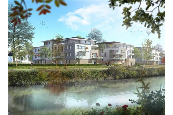 Programme les reflets de wasquehal appartement neuf for Piscine wasquehal