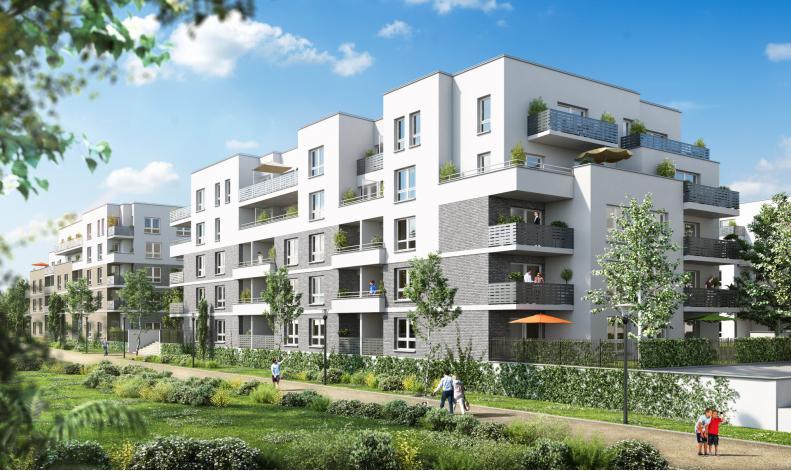 programme les jardins don bosco appartement neuf caen 14. Black Bedroom Furniture Sets. Home Design Ideas