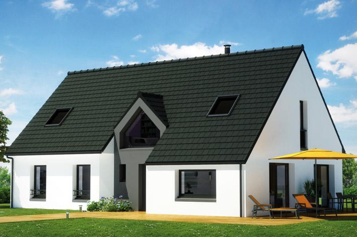Maison familiale mazingarbe constructeur maison individuelle - Modele maison familiale ...
