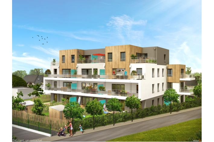 Programme terre marine appartement neuf la turballe 44 for Programme appartement