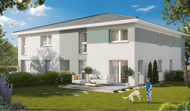 Programme les carres batik appartement neuf pfastatt 68 for Constructeur maison wittenheim