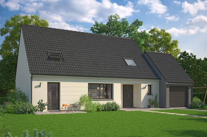 Maison familiale mazingarbe constructeur maison individuelle for Constructeur maison individuelle 72
