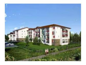 Villapollonia appartement neuf nexity for Appart hotel urrugne