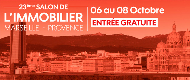 Salon de l 39 immobilier marseille provence 2017 guide du neuf for Salon de l immobilier marseille